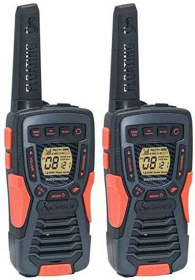 COBRA ACXT1035R FLT Floating Walkie Talkies- Waterproof, Rechargeable