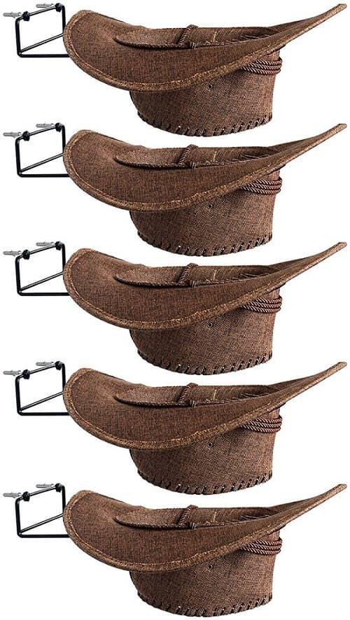 YYST Cowboy Hat Rack Cowboy Hat Holder Coyboy Hat Organizer