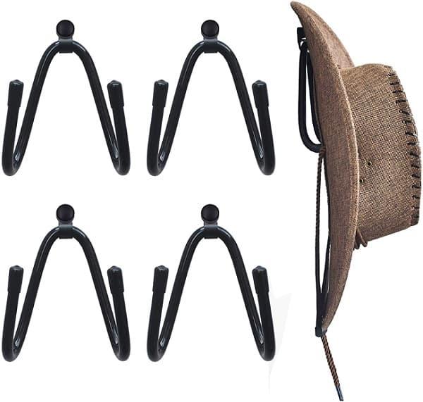 YYST Cowboy Hat Rack Hat Holder Hat Organizer Hat Wall Mount
