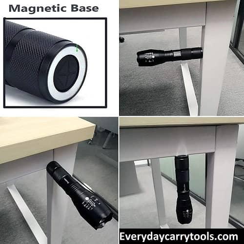TC1200 Tactical Flashlight Magnet