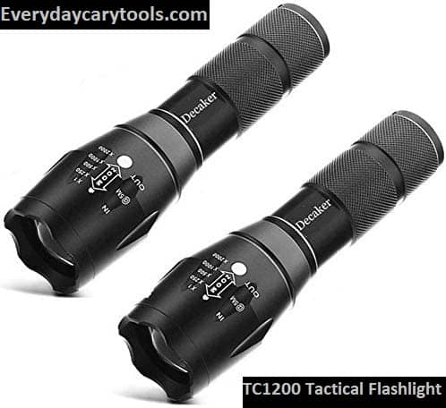 TC1200 Tactical Flashlight