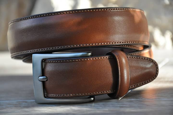 how to soften a leather belt