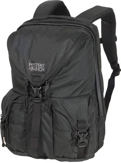 MYSTERY RANCH Rip Ruck Backpack - Military Inspired Tactical Pack, Black, 22L
