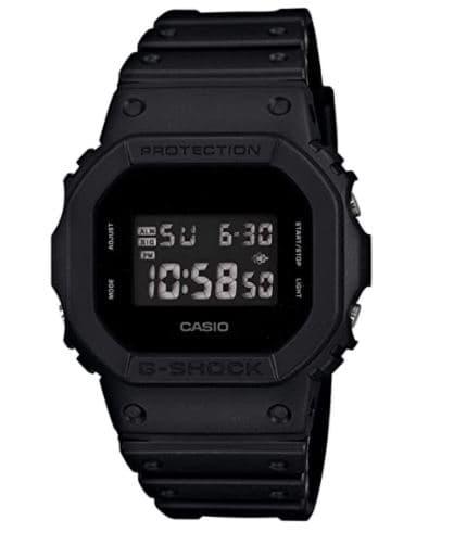Casio Men's DW5600BB-1 Black Resin Quartz
