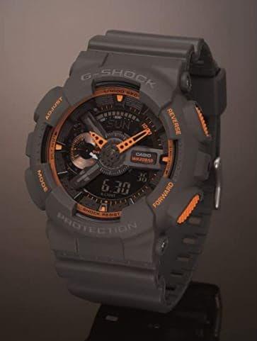 Casio Men's GA-110TS-1A4 G-Shock Analog-Digital Watch
