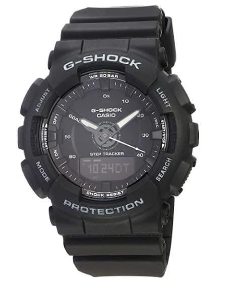 Ladies' Casio G-Shock S-Series Black Step