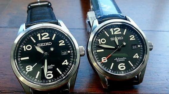 Seiko Sarg009 vs Sarg011